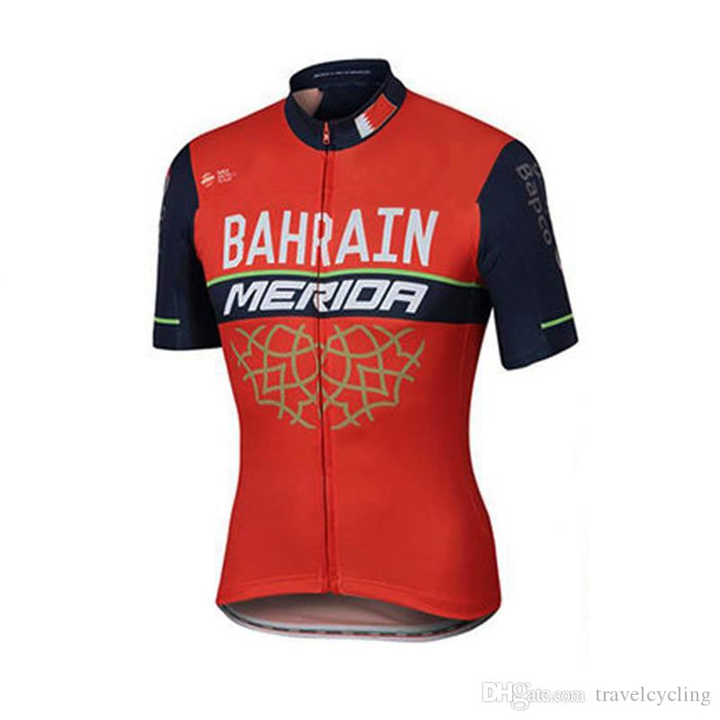 2018 New UCI World Tour Team BAHRAIN Bora Cycling Jersey Bicycle Wear  Clothing Mens Short Sleeve Bicicleta Maillot Mtb Bike Clothing 111203Y BAHRAIN  Cycling ... a060e8398