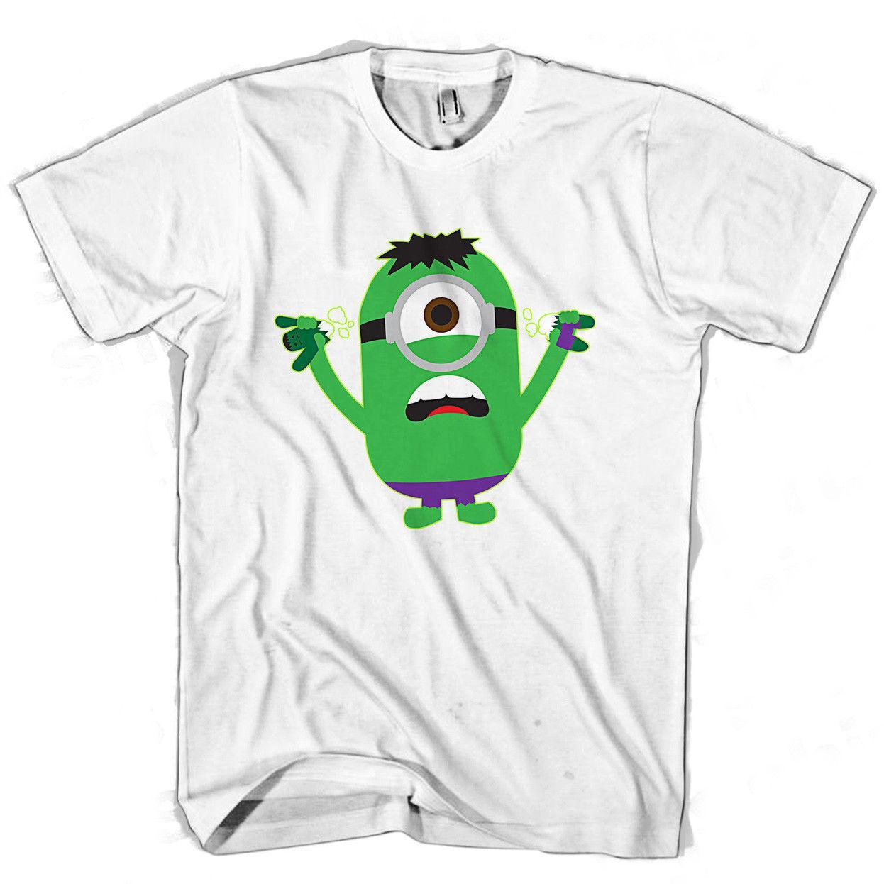 Hulk Minion Parody Men S Women S T Shirt Tee Shirts Mens T Shirts