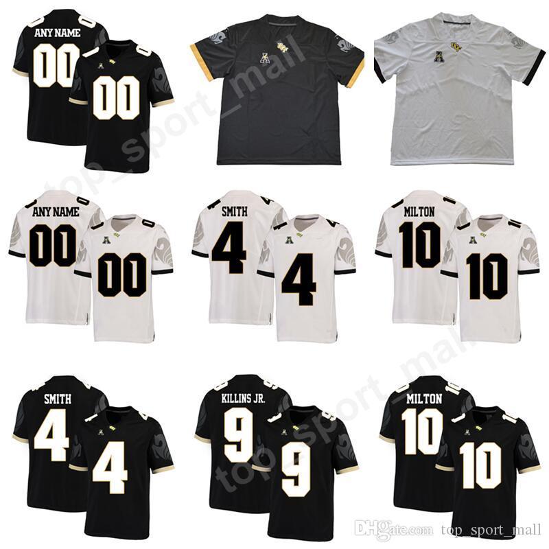 Compre Fútbol De UCF Knights College 10 McKenzie Milton Jersey Hombres  Personalizado Cualquier Número De Nombre 11 Matthew Wright 4 TreQuan Smith  9 Adrian ... 3438f04e1