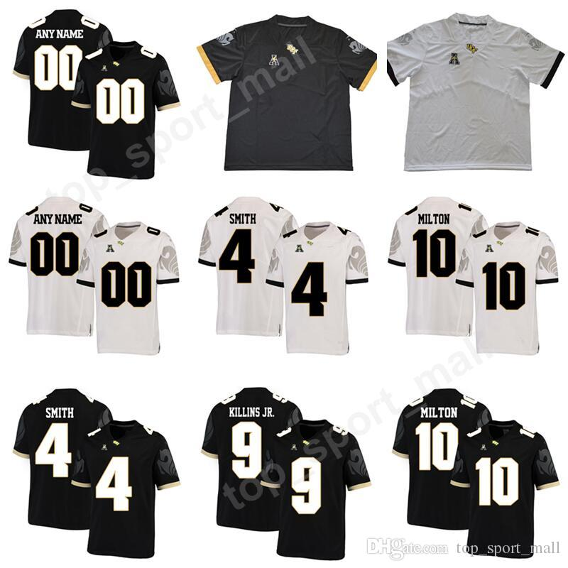 UCF Knights College Football 10 McKenzie Milton Jersey Men Custom ... 136c546e2c1