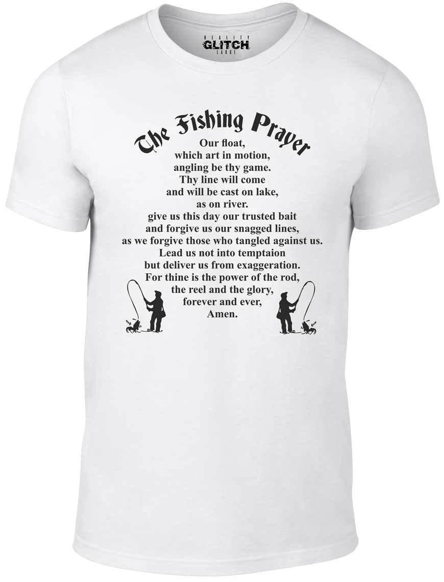 6b61ce7a60 Fishing Prayer T Shirt Funny T Shirt Retro Fish River Angling Sea Fly Gift  Dad T Shirts Shopping Online T Shirts Sites From Amesion2509, $12.08|  DHgate.Com