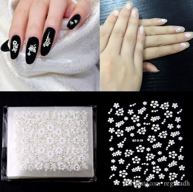 Nail Art New Stickers 3d Nail Decals 30 Models Sets Of Transfer