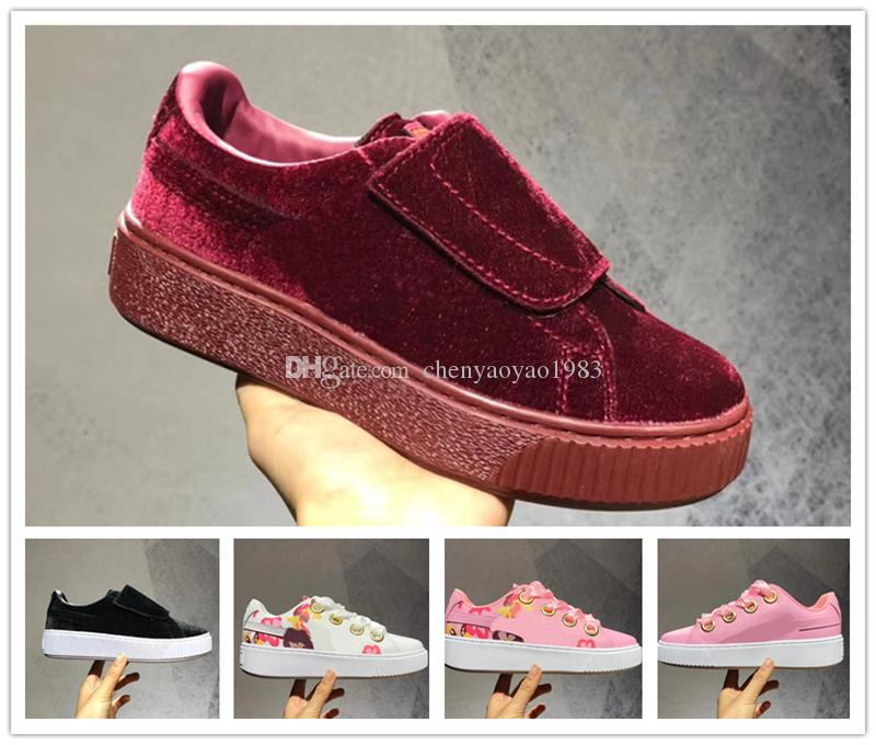 best wholesale sale online 2018 new women top quality casual outdoor fashion pink rose red fashion hot shoes size 36-40 free shipping clearance in China sale supply PfWpv