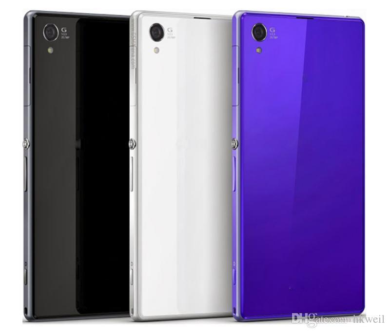 Yenilenmiş Orijinal Z1 C6903 5.0 inç Dört Çekirdekli 2 GB RAM 16 GB ROM 20.7MP 4G LTE Cep Telefonları