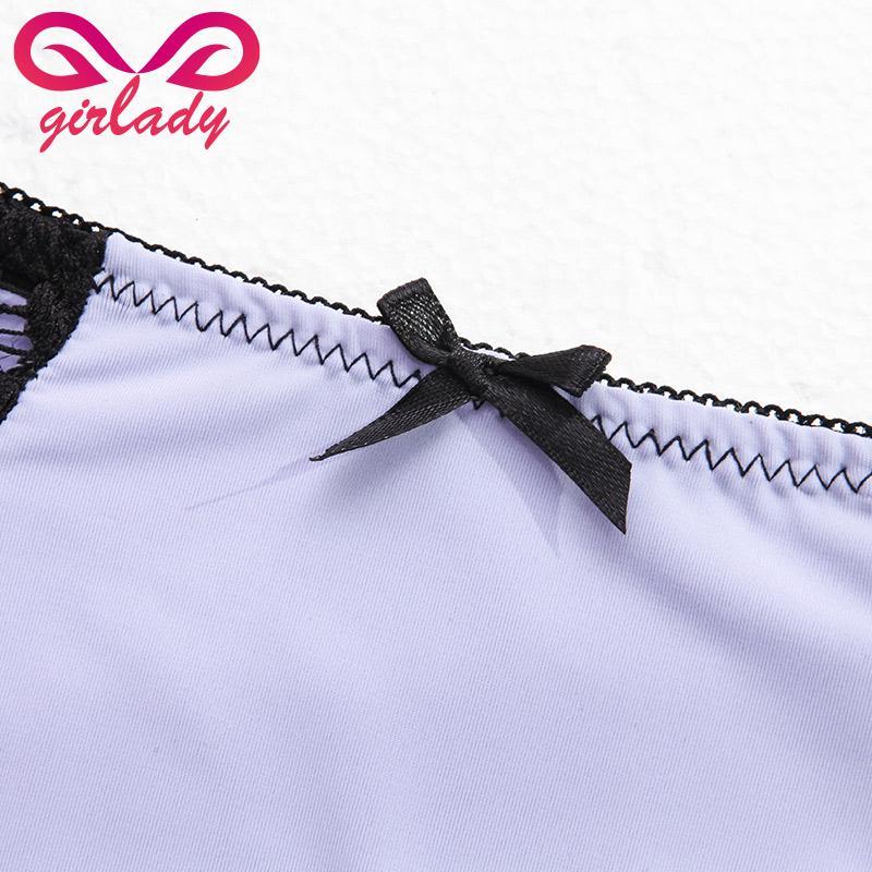 Spitze Spandex Frauen Höschen Marke Patchwork Design Briefs Luxus Seidige Touch Damen Unterwäsche 5 Farben Sexy Damen Briefs