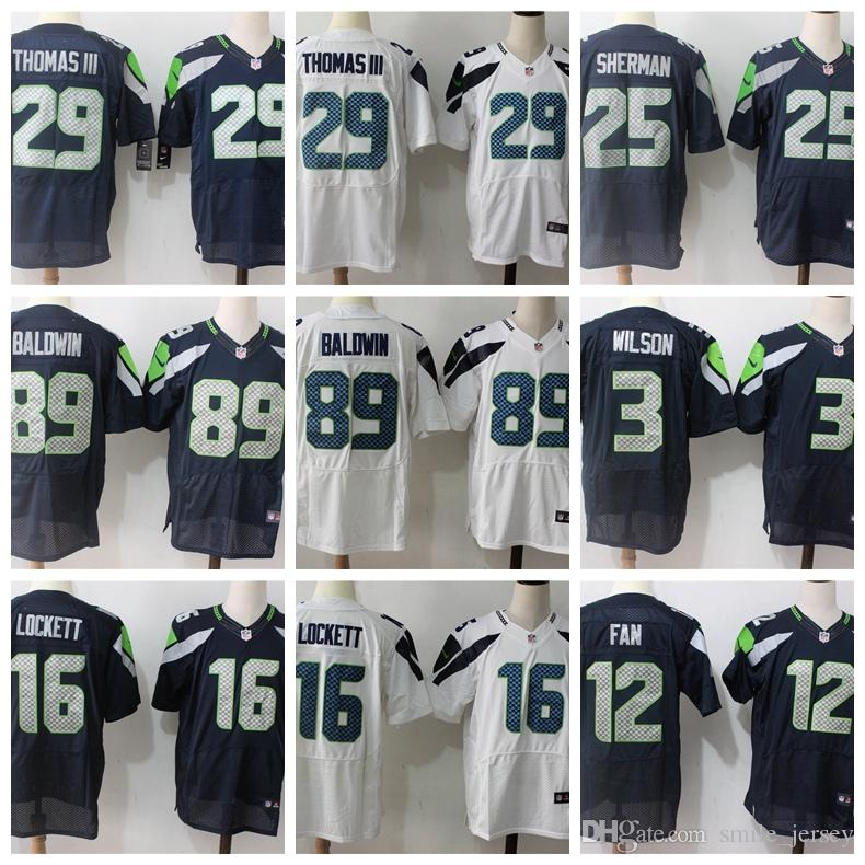 Mens Seattle Seahawks Elite Football Jersey 89 Doug Baldwin 12 12th ... a202d5a77