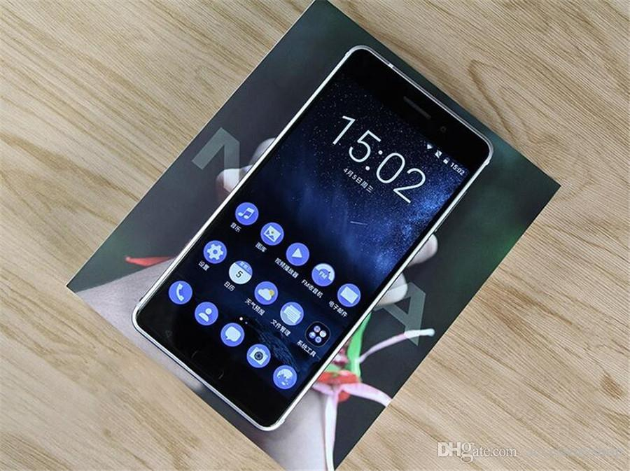 Refurbished Original Nokia 6 5.5 inch Octa Core 4GB RAM 32/64GB ROM 16MP Camera Android 7.0 4G LTE Smart Cell Phone Free DHL