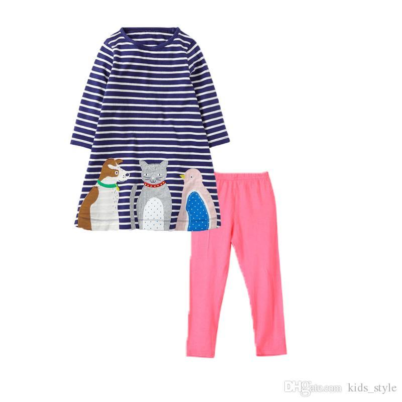 Compre Baby Kids Girls Set Clothing Pdf Patrón De Costura Vestido ...