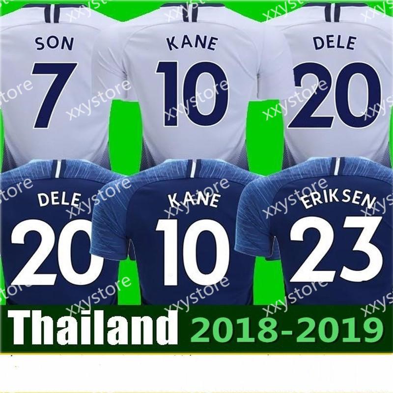 7d908ccf26fd 2018 2019 Hot Spur 10 KANE Jersey Men Soccer Premier League 11 ...