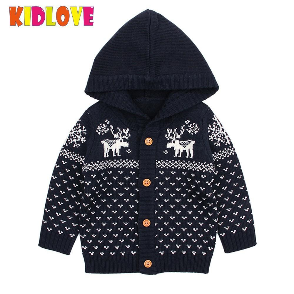 06e0e2db2 Kidlove Unisex Baby Sweaters Knitting Thick Warm Girls Boy Sweater ...