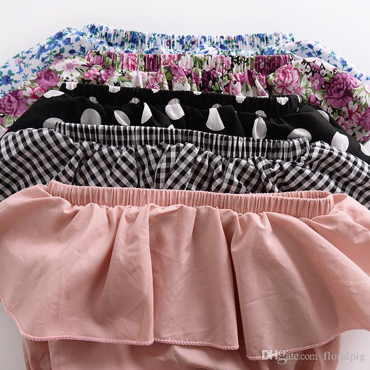 Summer 2018 Cotton Baby Ballet Shorts Kids Polka Dot Shorts Pants Cover Ruffle Panties For Baby PP Shorts Bloomers