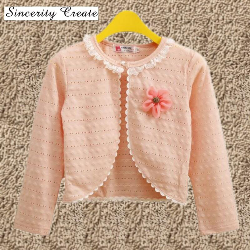 f6a8aebf9 New 1 9Y Cotton Kids Girls Cardigan Thin Full Sleeves Sweater For ...