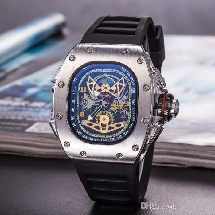6f25b1f9080 Compre Hot Crânio Relógios À Prova D  Água De Luxo Relógios Pulseira De  Silicone Moda Relógios De Pulso De Quartzo Mulheres De Negócios Oco Relógio  Frete ...
