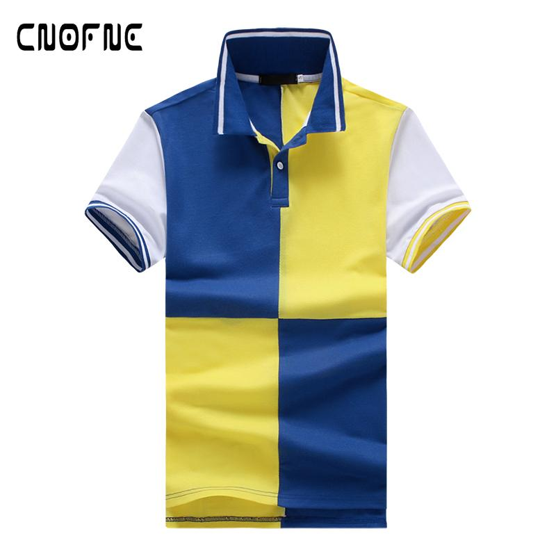 4d4a784d99 2018 Fashion Clothing New Men Polo Shirt Men Business   Casual Solid ...