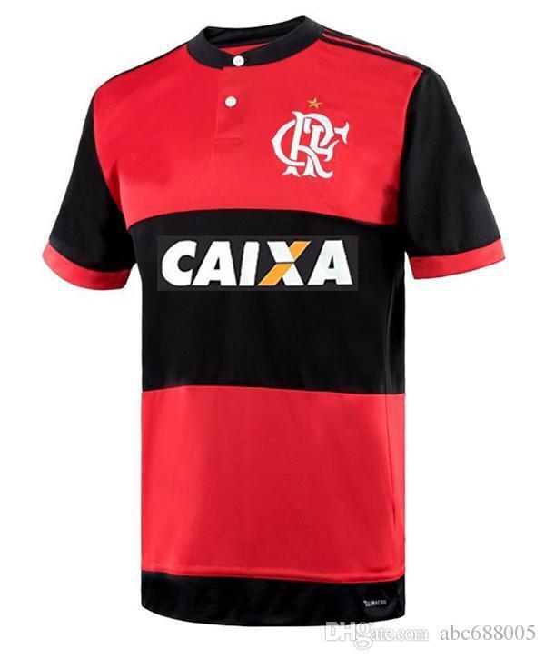 8360e67b0 2019 CR Flamengo Home Soccer Jersey Flamenco GUERRERO VINICIUS JR DIGEO  Flamenco Camisetas Futbol Camisa De Futebol Maillot De Football Uniform From  ...