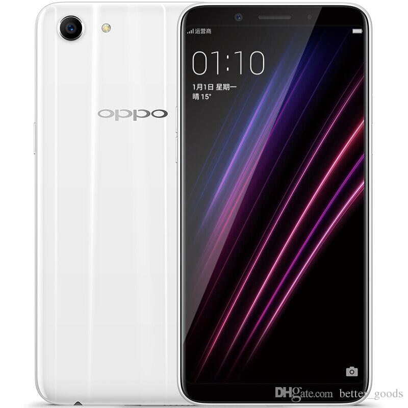 Original OPPO A1 4GB RAM 64GB ROM 4G LTE Mobile Phone MT6763T Octa Core  Android 5 7 Full Screen 13 0MP Face ID Smart Cell Phone
