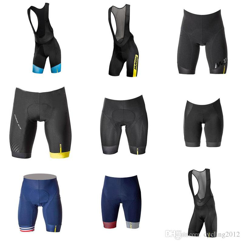 Mavic 2018 Cycling Bib Shorts 3D Gel Pad Summer Racing Team Bike ... 88656c851