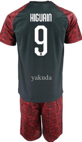 c74140c9484 2019 Drop Shipping Accepted,2018 New Men Soccer Jersey Sets Jerseys With  Shorts,Top Mens 9 HIGUAIN 8 Suso 11 Borini 7 S.Castillejo Soccer Wear From  Yakuda, ...