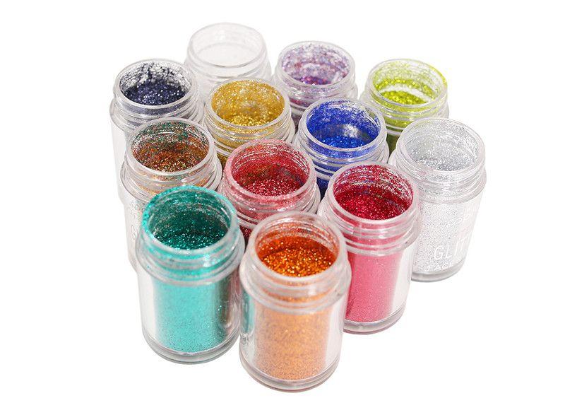 Diamond Glitter Eyeshadow Powders Popfeel Eyes Makeup Eye Shadow Sets Cosmetics Pigment Metallic Shimmer Eyeshadow Powder Kits