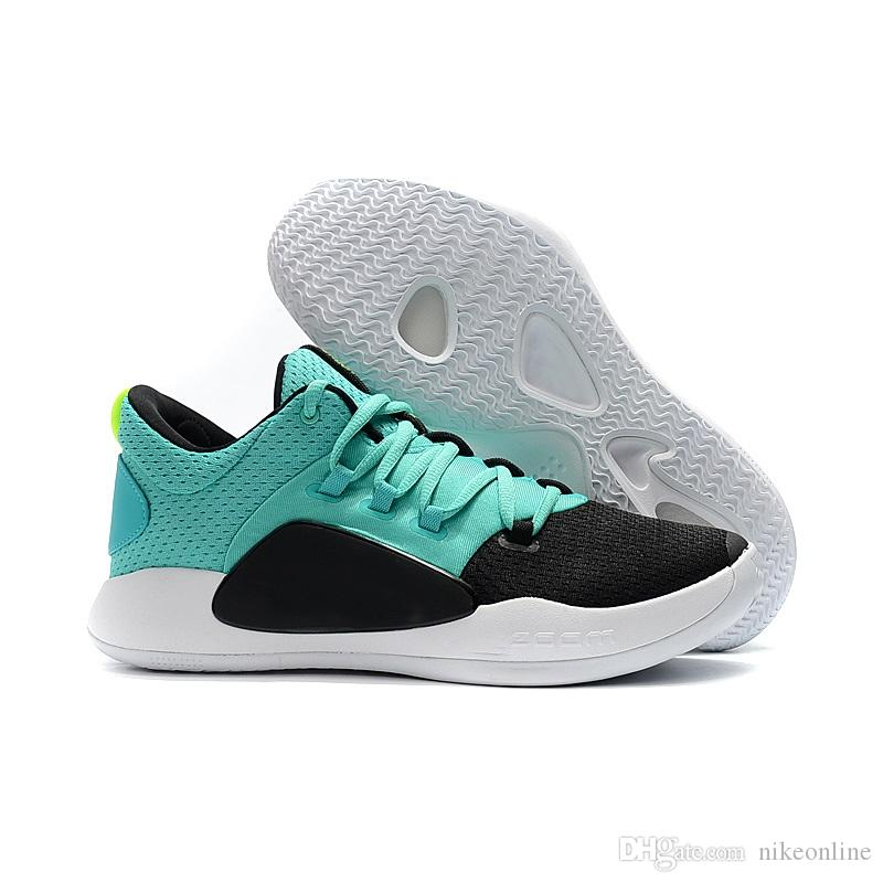 on sale 81f42 f4184 2019 Cheap New Men Hyperdunks Low Cut 2018 X Basketball Shoes Blue Black  White Olympics Air Flights Sneakers Boots With Original Box For Sale From  ...