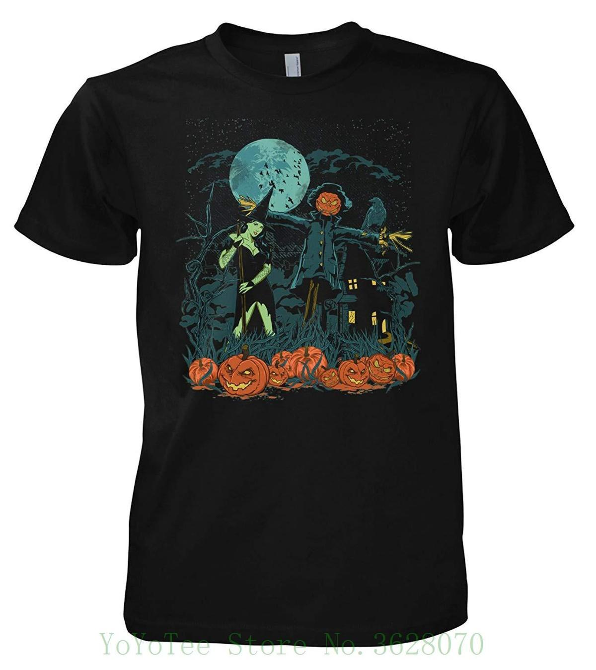 570e04ded93cb Rock Style Halloween Scarecrow 702344 T-shirt New Arrival Male Tees Casual  Boy T-shirt Tops Discounts