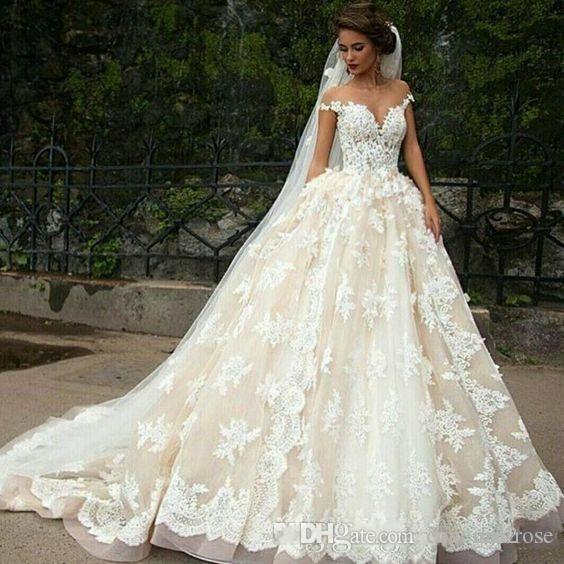 Back To Search Resultsweddings & Events Scoop Appliqued See Through Backless Tulle A-line Sexy Beach Bride Wedding Dress Robe De Mariee Sofuge Boho Dubai Arabic Abiti