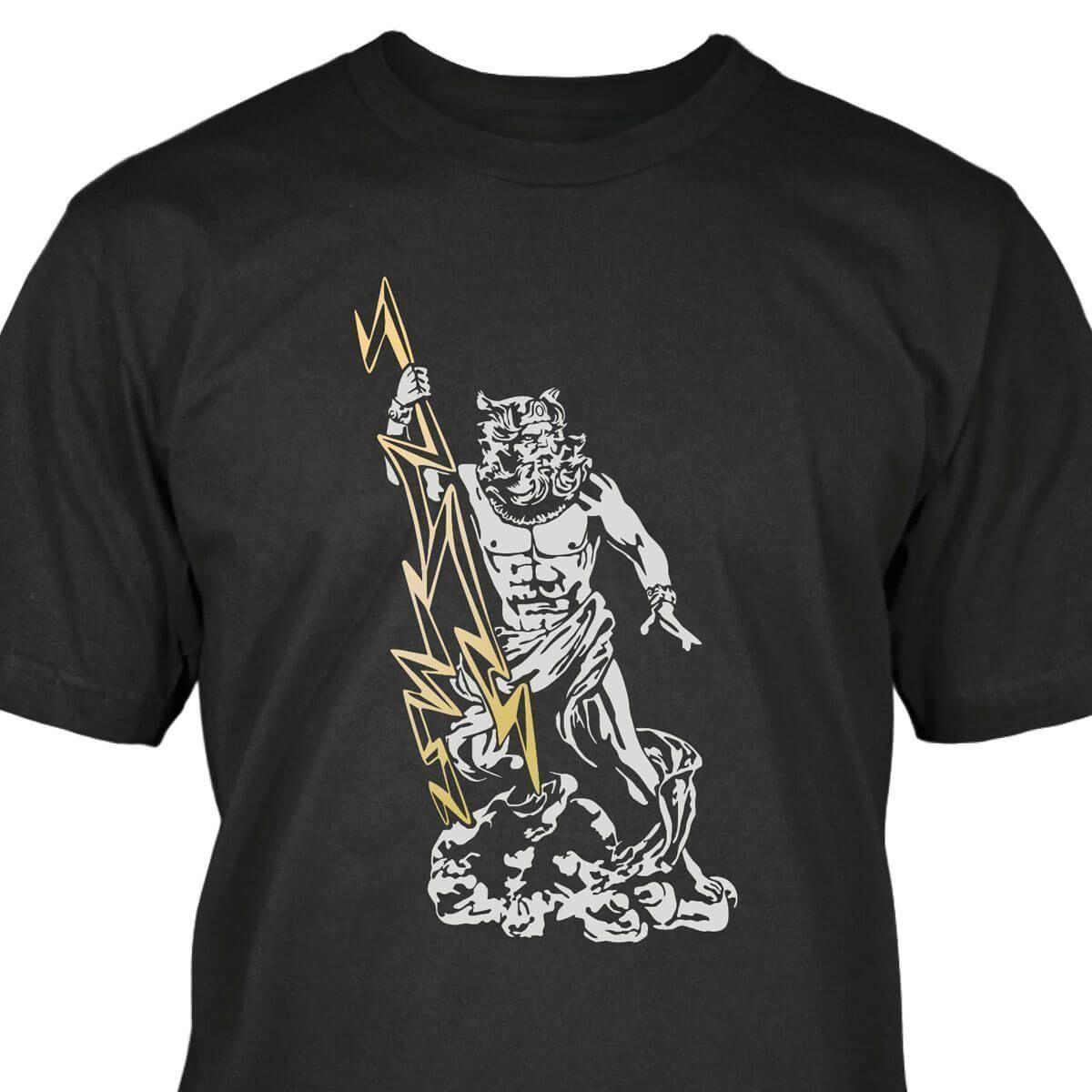 72892671b03 Zeus T Shirt Mens 2018 Fashion Brand T Shirt O Neck 100%cotton T Shirt Tops Tee  Custom Environmental Printed Tshirt Male Hip Hop Funny Coolest Tee Shirts  ...