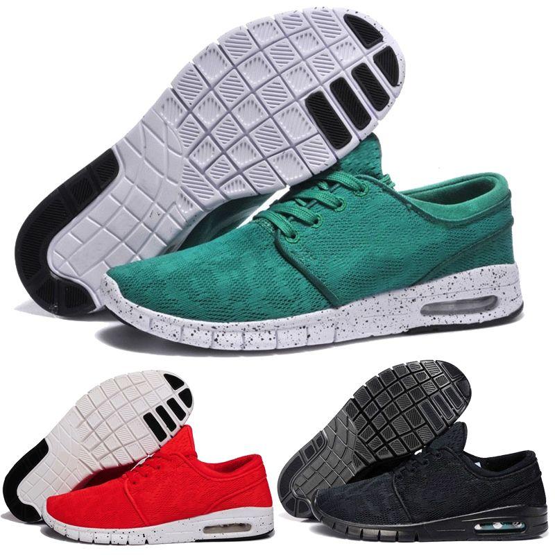 the best attitude 4ad89 7fb96 Acheter 2018 Été Pas Cher Hommes Femmes Mode Nike Sb Stefan Janoski  Chaussures De Course Noir Gris Athlétique Marcher Sport Chaussures Sneakers  Chaussures ...