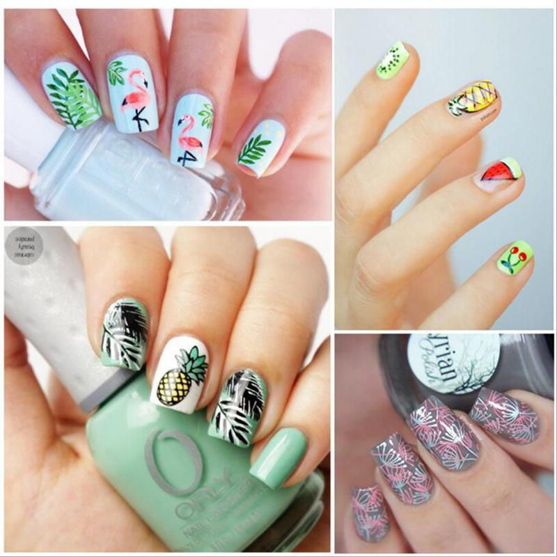 nail art stamp template mandala flower design image plate diy