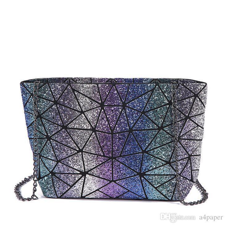 2018 Nuova primavera estate signora tracolla Messenger pu catena borse a tracolla delle donne varietà reticolo borsa borsa borsa multifunzionale