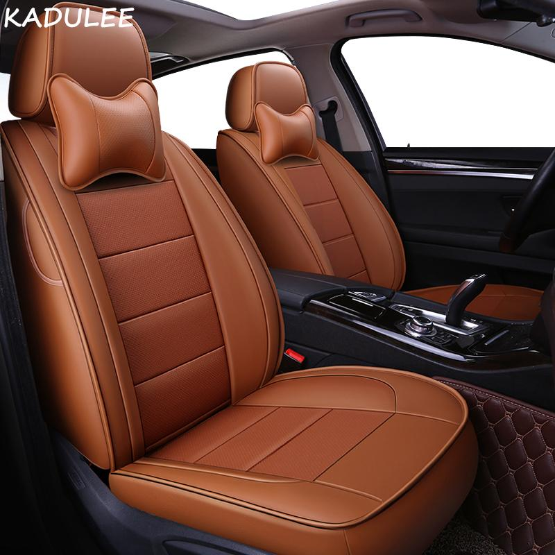 Wholesale Custom Leather Car Seat Covers Set For Smart All Models Fortwo Forfour Forjeremy Styling Accessories Baby Protectors