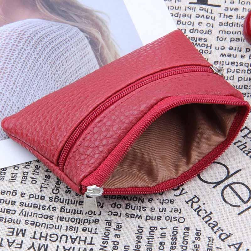 261c81b121496 Leather Coin Purse Women Small Wallet Change Purses Mini Zipper Money Bags  Children S Pocket Wallets Key Holder Zip Pouch Womens Handbags Ivanka Trump  ...