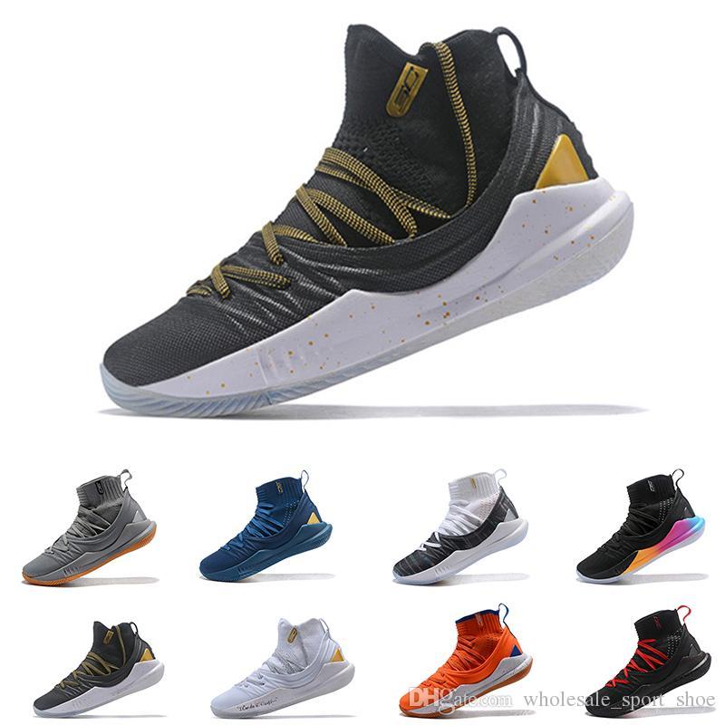 finest selection 332dc c0600 Acheter Pas Cher Stephen Curry 5 Chaussures De Basket Stephen Mens Ua Curry  5 Championnat Mvp Finales Entraînement Sportif Baskets Course Chaussures  Taille ...