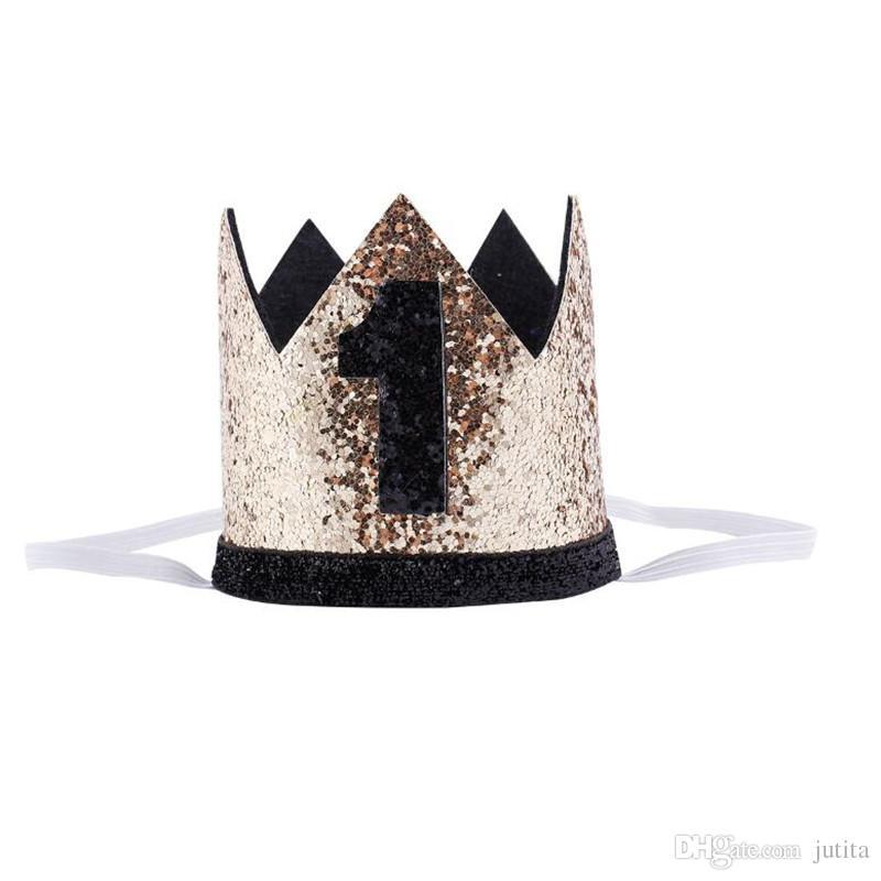 2018 New 30 Years Old Birthday Headband Crown Women Lady Girls Decorative Hairband Headwear Birthday Party Favor Gifts