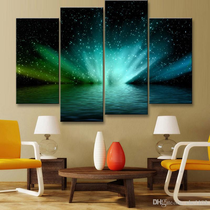 painting & calligraphy print Planet canvas poster wall art living room restaurant Bedroom Decorative paintings XQ4-003