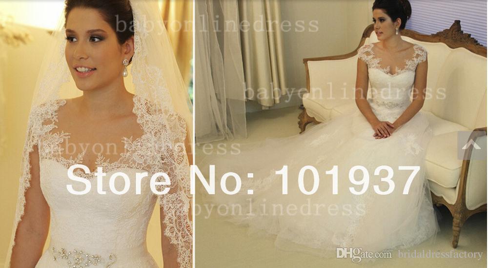 elie saab 2018 new design elastic dress white/ivory custom size/color beading bridal gowns lace wedding dresses
