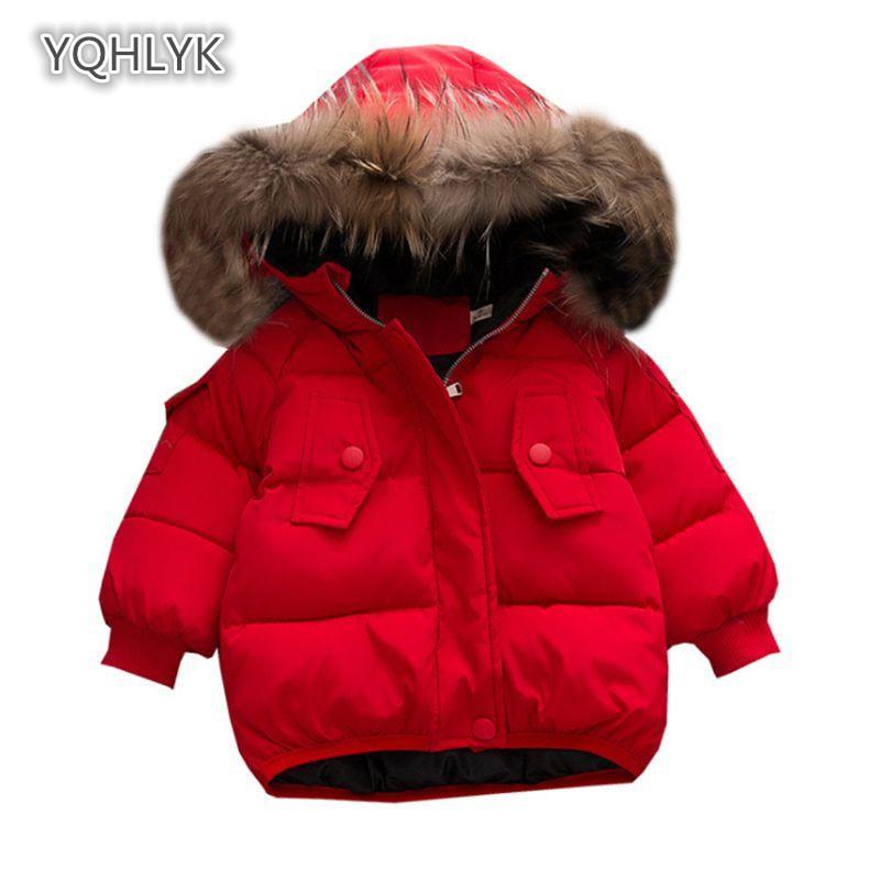 740a896ef Compre Abrigo De Algodón Infantil De Invierno Para Bebés