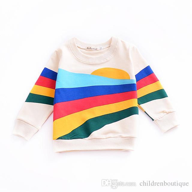 0f7072391f Großhandel Baby Kleidung Mädchen T Shirt Kinder Kleidung 2018 Neue ...