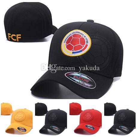 Hot Christmas Sale Colombia FCF Football SNAPBACK Elastic Caps Hats ... 5e8de03caa8