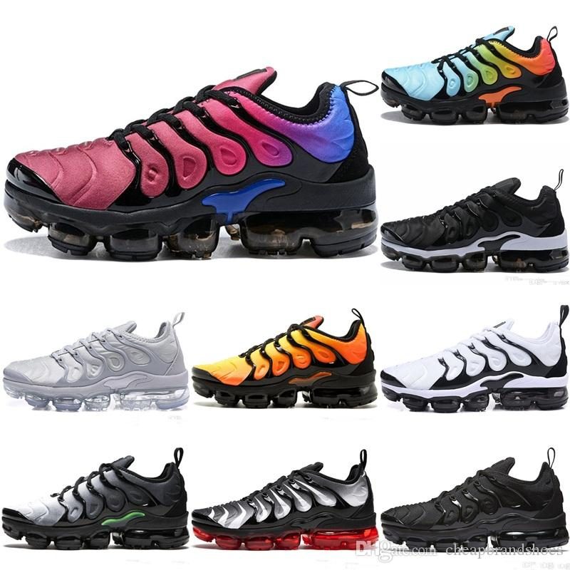 46baa33fcf2aa Cheap VM TN Plus Men Running Shoes BE TRUE Yellow Triple White Black Silver  Hyper Violet Volt Designer Trainers Sport Sneakers Size 36-45 VM TN Plus TN  Plus ...