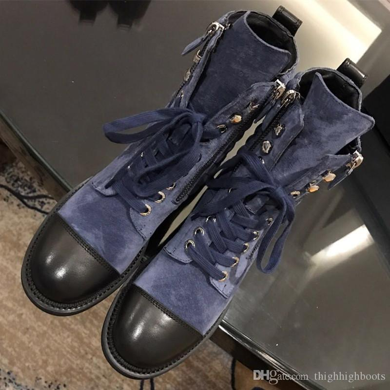 4b7c25743470 Ankle Boots Classical Women Designer Motorcycle Boots High Quality ...