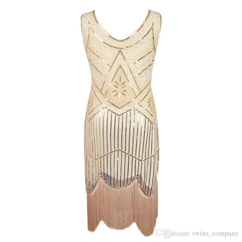 Hight Quality Evening Dresses Dance Clothes Sequins Costume Fringe Salsa Dresses Dinner Party Formal Gowns Women Ballroom Dress