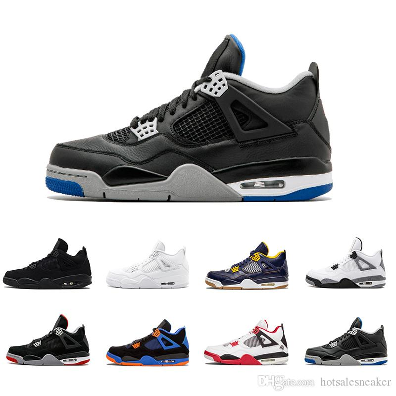 2018 Cheap Sale 4 Iv Basketball Shoes Alternate Motorsport Pure