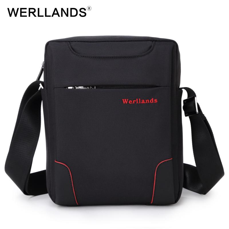 e49652cedce1 WERLLANDS Small Crossbody Bags For Men Weartproof Oxford Casual Bags Best  Designer Single Shoulder Bag Mini Men S Messenger Bag Leather Satchel  Ladies Bags ...