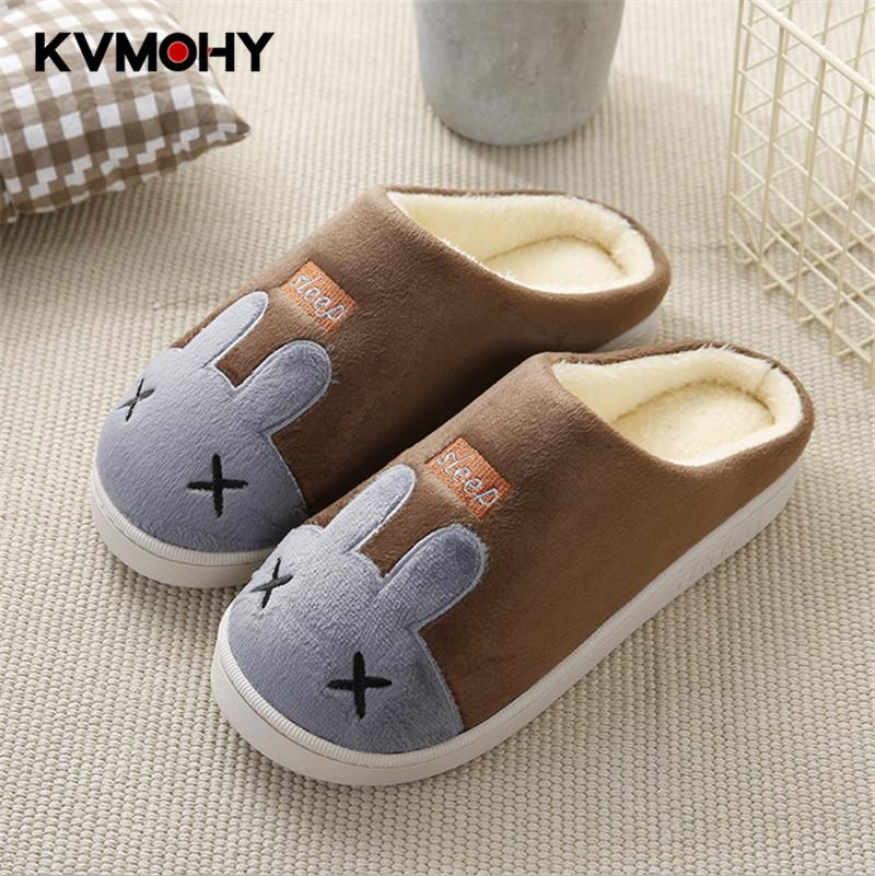 d9ea74ac4d39 Men Slippers Warm Plush Winter Fur Slippers Soft Indoor Cute Cartoon Shoes  Flat With Home Slides Mens Slipper Male Winter Boots For Women Boots Online  From ...