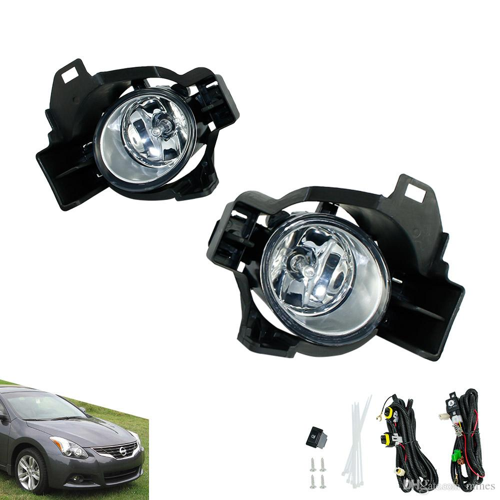 Fog light for 2005 - 2006 Nissan Altima 2004 - 2006 Quest fog lamp Clear  Yellow Lens Bumper Fog Lights Driving Lamp