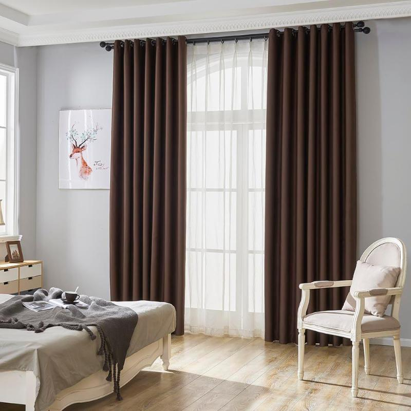 Modern Blackout Curtains For Window Treatment Blinds Finished Drapes Delectable Blackout Bedroom Blinds