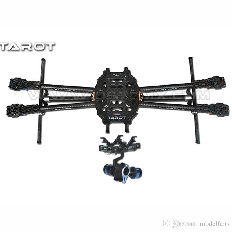 2018 Tarot Fy650 3k Pure Carbon Fiber Folding 650mm Fpv Quadcopter ...