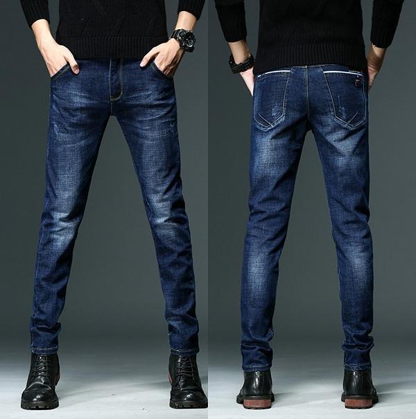 b06335fc2452 Acheter Vente Chaude Skinny Jeans Hommes Stretch Slim Denim Jeans Hommes  Coton Décontracté Lavé Designer Vêtements Masculino Jean Homme Pantalon De   41.21 ...