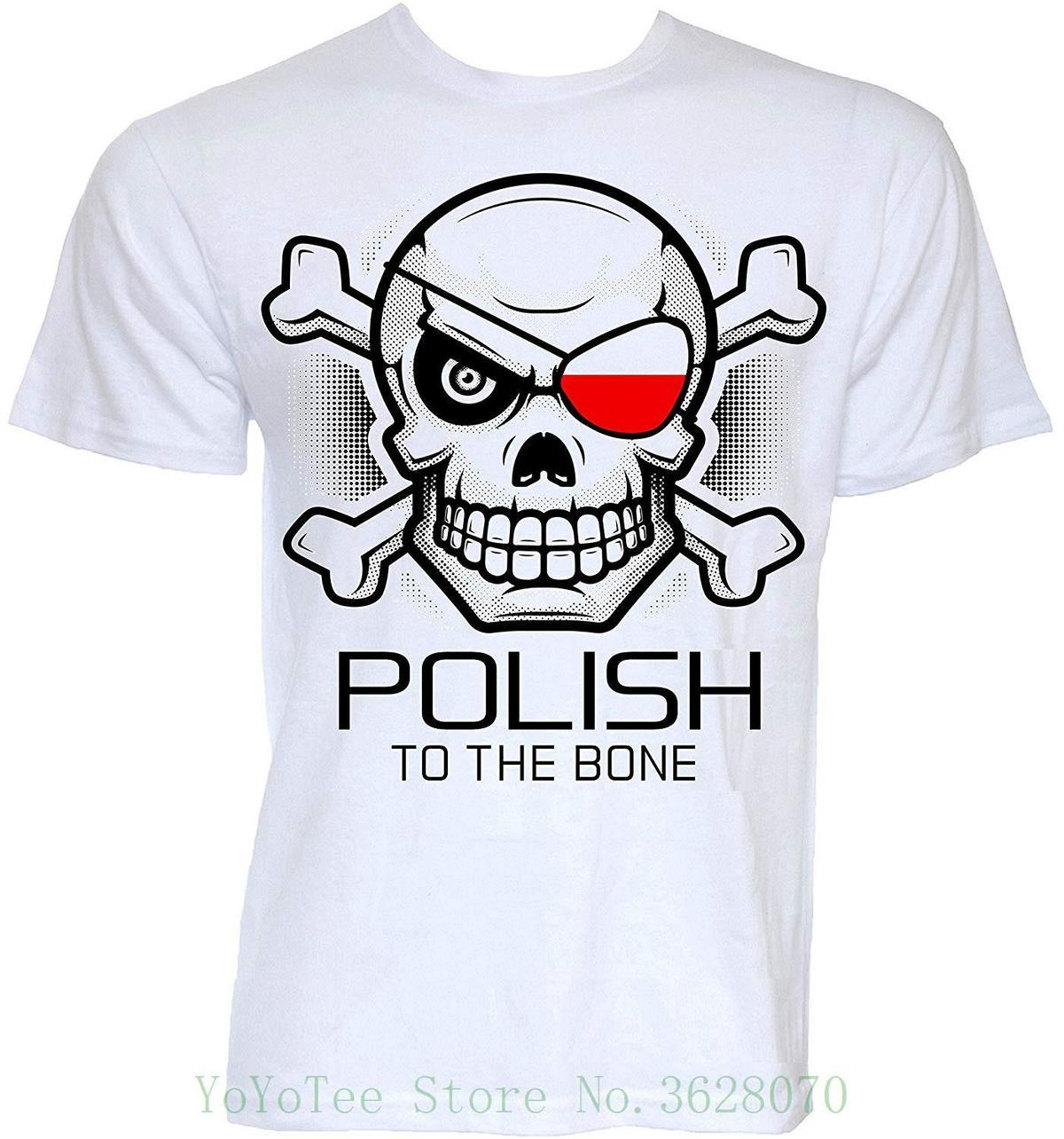 cbea0b16 Beat Tees Clothing Mens Funny Novelty Polish To The Bone Joke Poland Flag  Gifts T Shirts Summer New Print Man Cotton Fashion Tee Shirt Designs  Humorous T ...